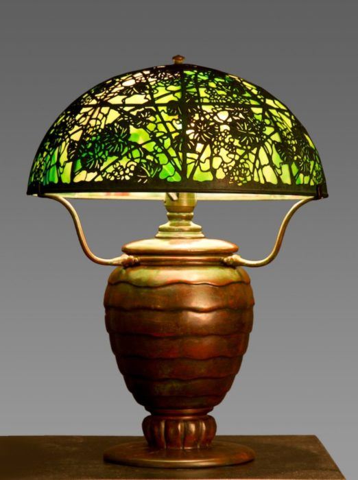 Tiffany Grapevine Lamp