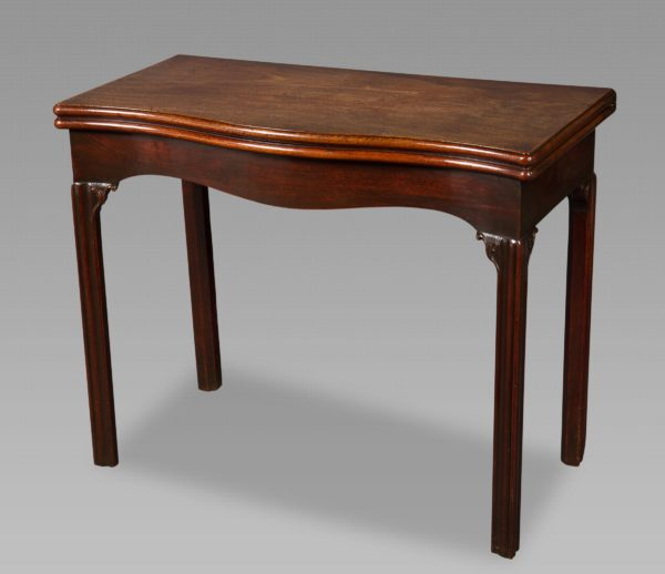 Very Fine George III Mahogany Games Table