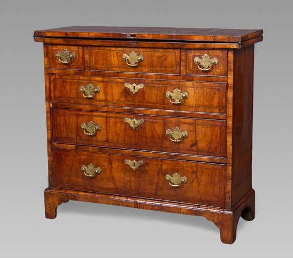 A Very Good and Small George II Walnut Bachelors Chest