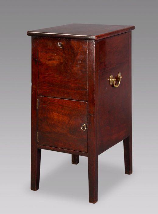 George II Mahogany Bedside Cupboard