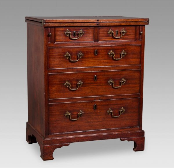 A George III Bachelor's Chest of Diminutive Proportions