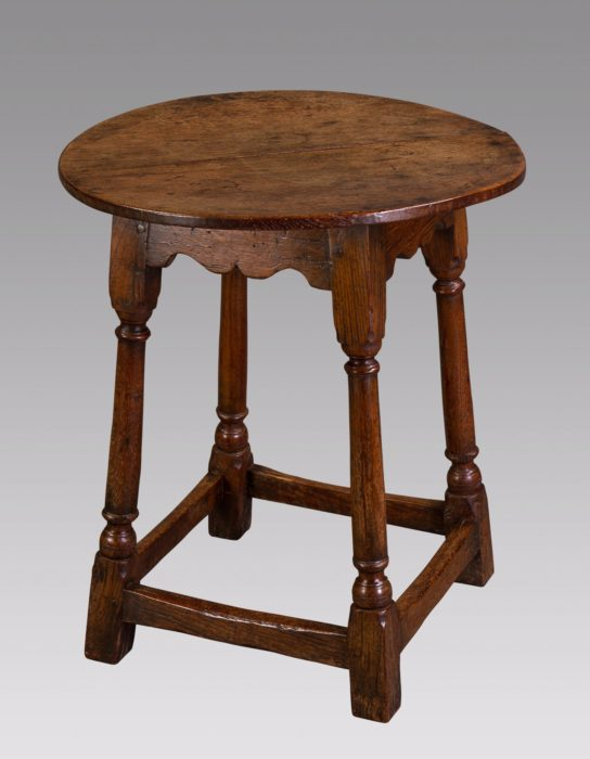 A Mid-18th Century Small Oak Tavern Table