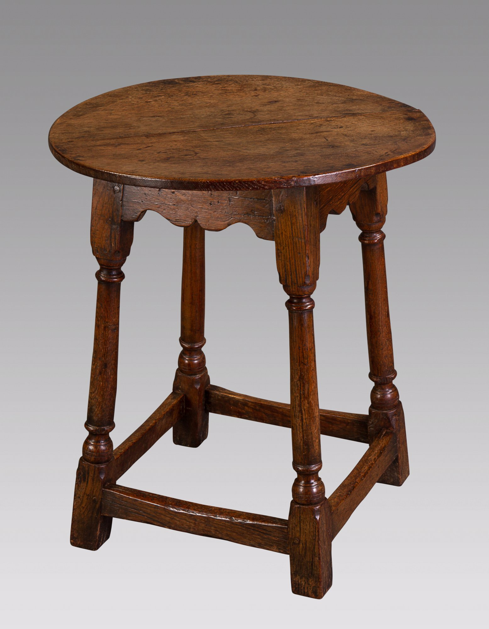 A Mid 18th Century Small Oak Tavern Table ...