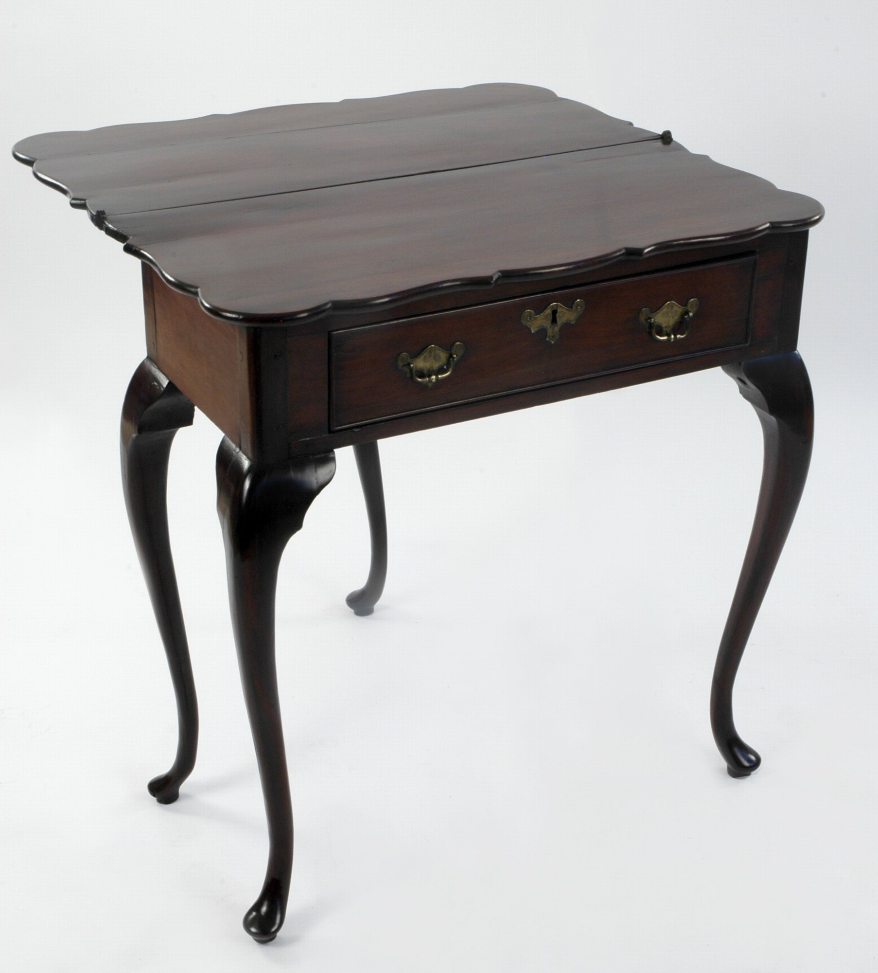 Eighteenth Century Dutch Colonial Padouk Side Table