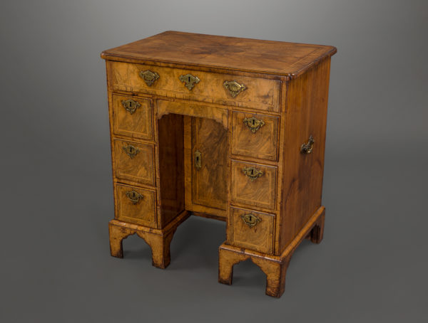 Fine and Important George I Walnut Kneehole Desk