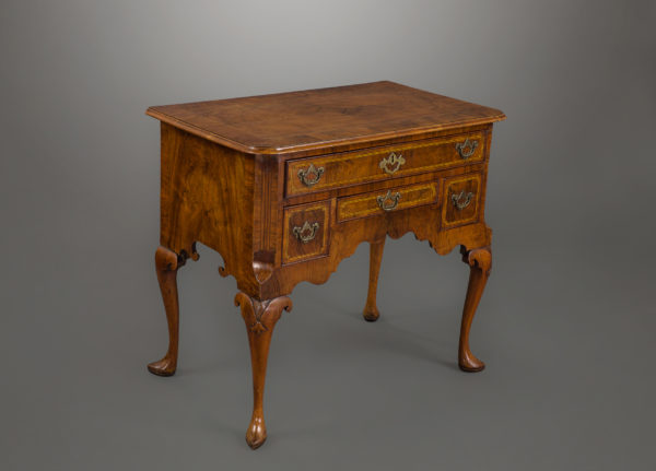 Fine George I Walnut Lowboy