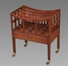 Good George III Mahogany Canterbury