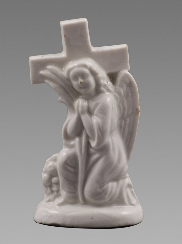 A Fine 17th Century Blanc De Chine Figure of an Angel