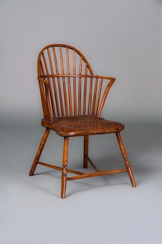 Gillows: A Late 18th Century Ash Windsor Chair Possibly for the American Market
