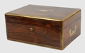 George IV Rosewood and Brass Mounted Legal Document Box