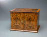 Very Rare William and Mary Oyster Veneered Small Table Cabinet