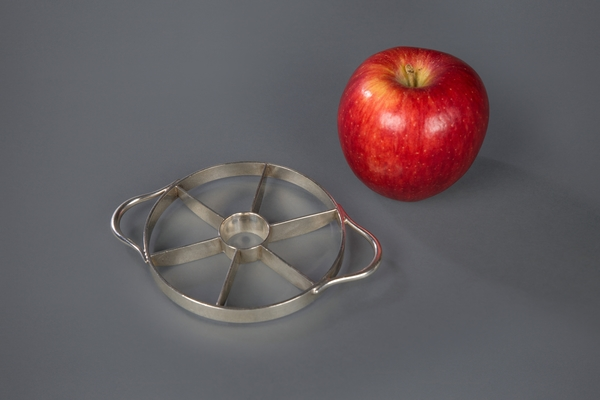 Silver Apple Corer and Slicer