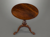 A Fine George II Mahogany Tripod Table