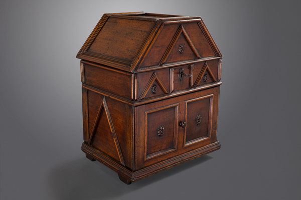 A Late 16th or 17th Century Walnut Table Cabinet